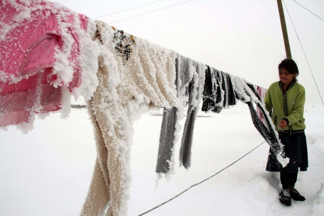 Doğu'nun kar çilesi sürüyor 14
