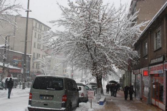 Doğu'nun kar çilesi sürüyor 21