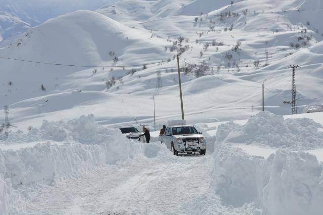Doğu'nun kar çilesi sürüyor 6