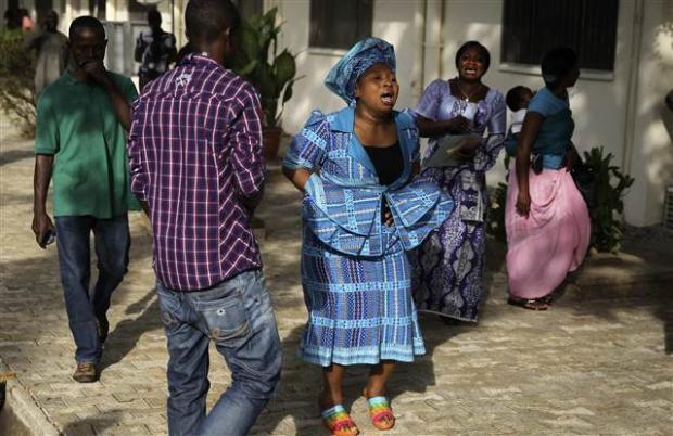 Nijerya'da otobüs terminaline bombalı saldırı 17