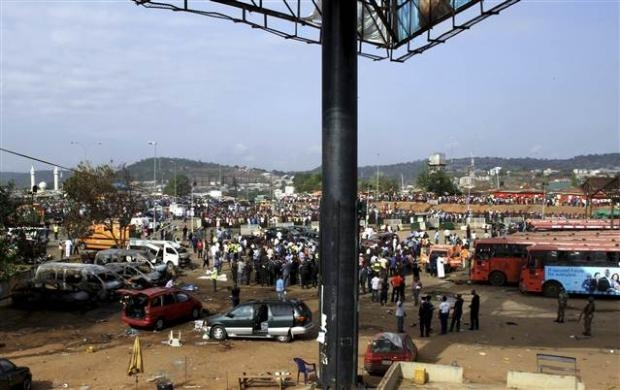 Nijerya'da otobüs terminaline bombalı saldırı 18
