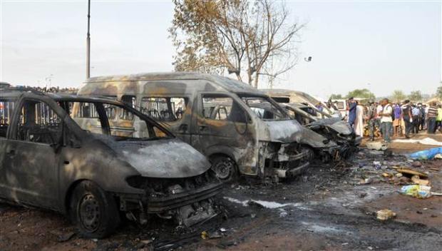 Nijerya'da otobüs terminaline bombalı saldırı 2