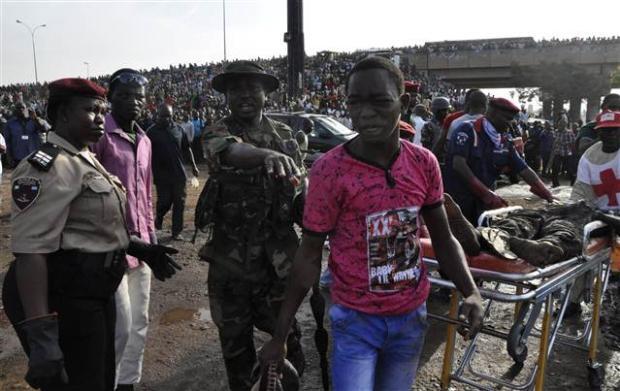 Nijerya'da otobüs terminaline bombalı saldırı 5