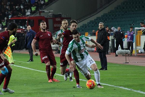 Torku Konyaspor-Trabzonspor maçı 1