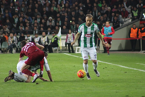 Torku Konyaspor-Trabzonspor maçı 12