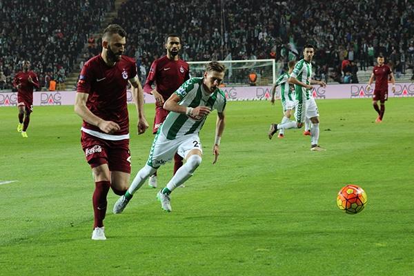 Torku Konyaspor-Trabzonspor maçı 14
