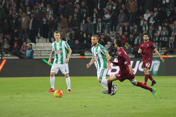 Torku Konyaspor-Trabzonspor maçı 15