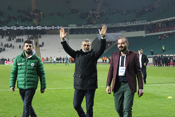 Torku Konyaspor-Trabzonspor maçı 7