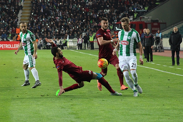 Torku Konyaspor-Trabzonspor maçı 9