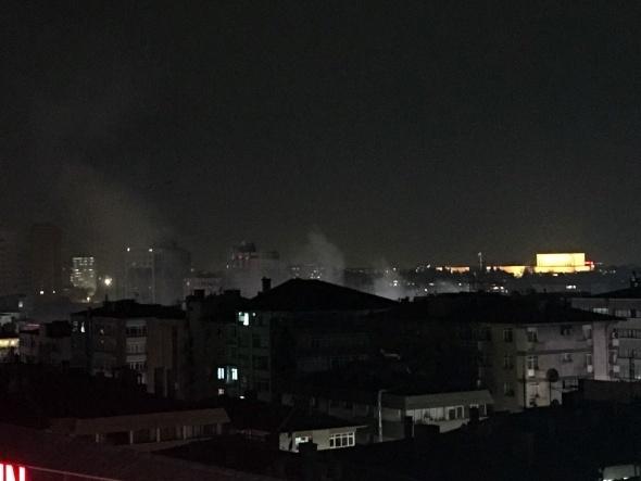 Ankara'da büyük patlama! 1