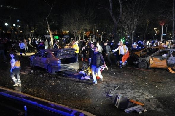Ankara'da büyük patlama! 10