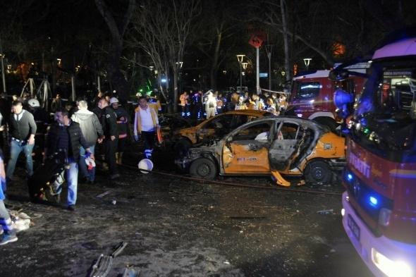 Ankara'da büyük patlama! 12