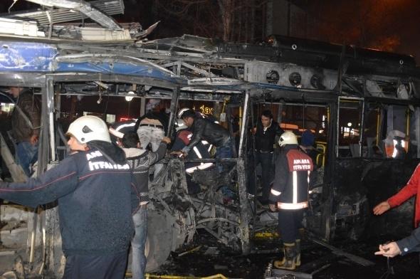 Ankara'da büyük patlama! 13