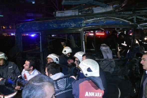 Ankara'da büyük patlama! 14