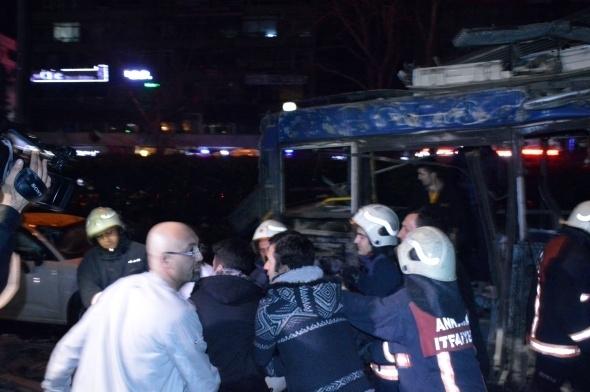 Ankara'da büyük patlama! 15