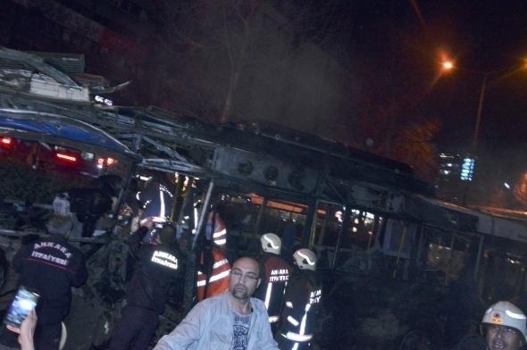 Ankara'da büyük patlama! 17