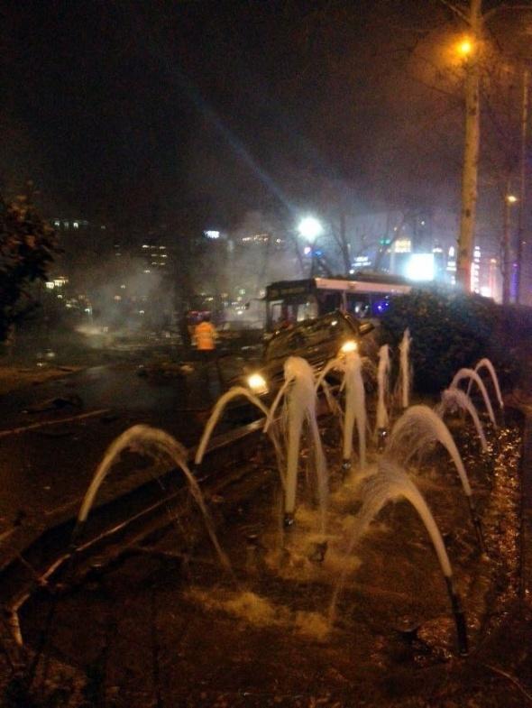 Ankara'da büyük patlama! 2
