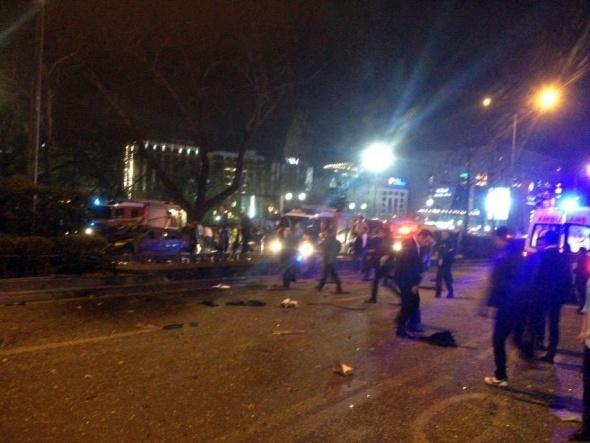 Ankara'da büyük patlama! 3