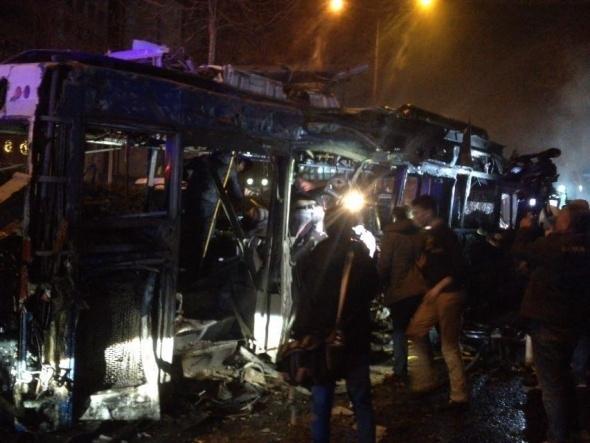 Ankara'da büyük patlama! 4