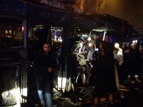 Ankara'da büyük patlama! 5