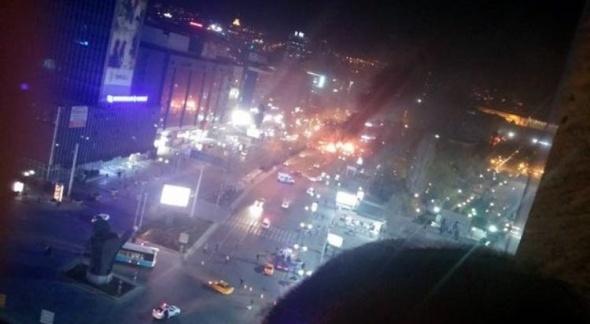 Ankara'da büyük patlama! 7
