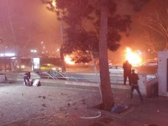 Ankara'da büyük patlama! 8