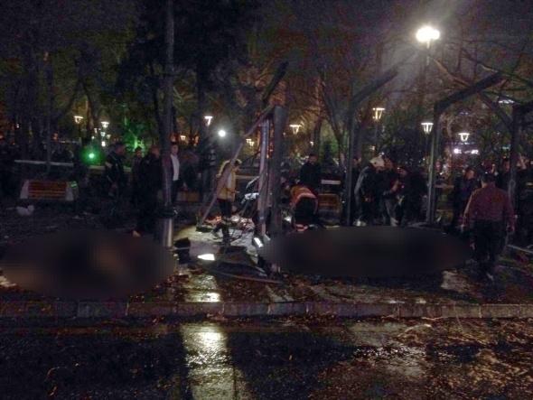 Ankara'da büyük patlama! 9