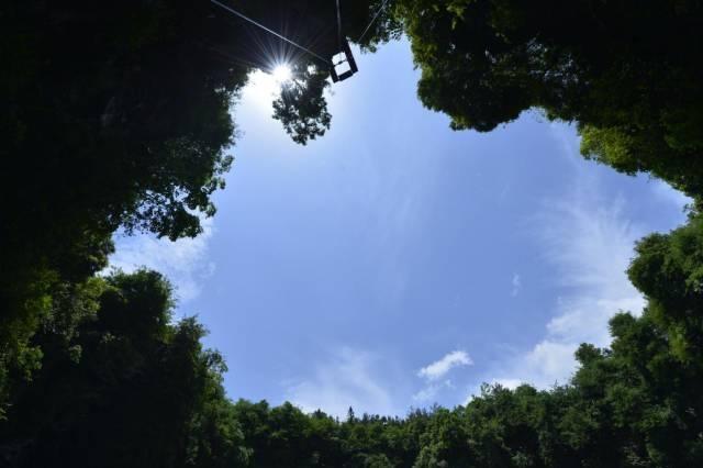 Çin'deki dev mağara ilk kez görüntüledi 10