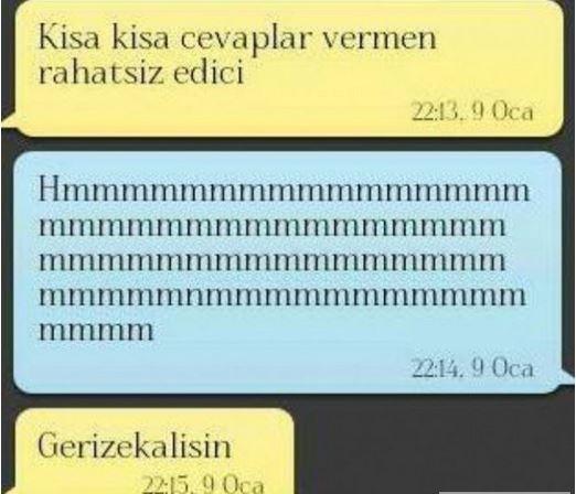 Birbirinden Komik Whatsapp Diyalogları 16