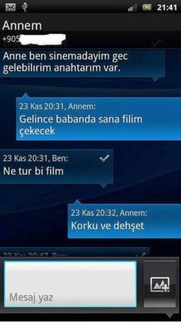 Birbirinden Komik Whatsapp Diyalogları 22