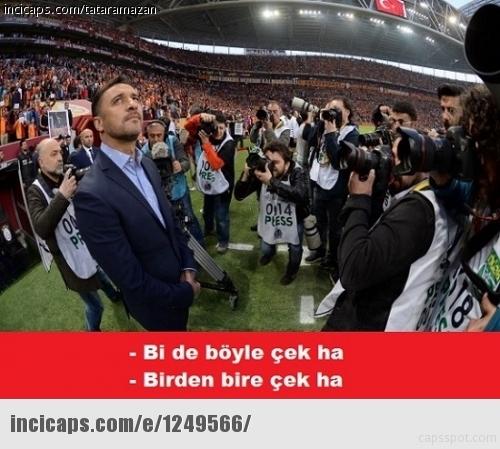Galatasaray-Fenerbahçe derbisinin Caps'leri 1
