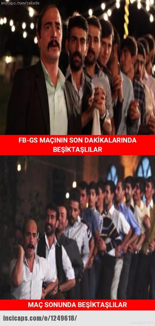 Galatasaray-Fenerbahçe derbisinin Caps'leri 13