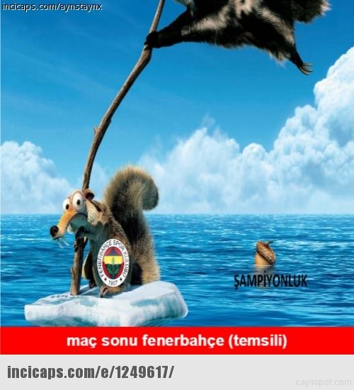 Galatasaray-Fenerbahçe derbisinin Caps'leri 14