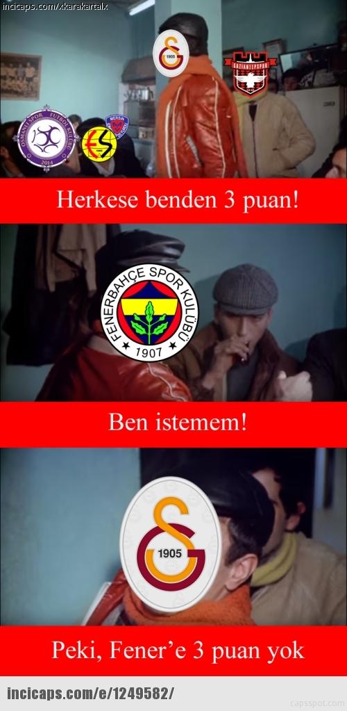 Galatasaray-Fenerbahçe derbisinin Caps'leri 2