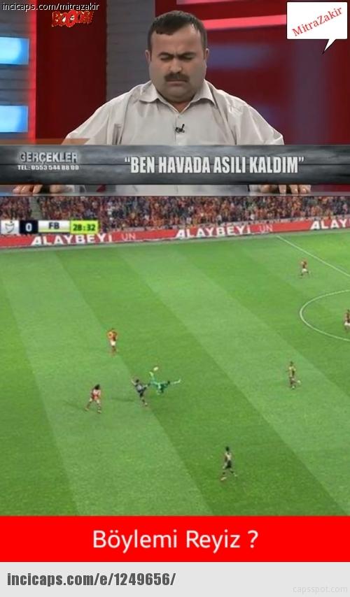 Galatasaray-Fenerbahçe derbisinin Caps'leri 5