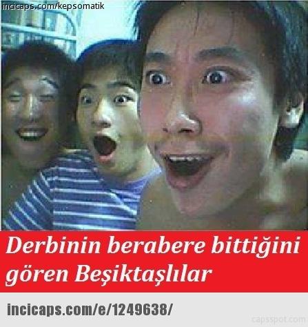 Galatasaray-Fenerbahçe derbisinin Caps'leri 7