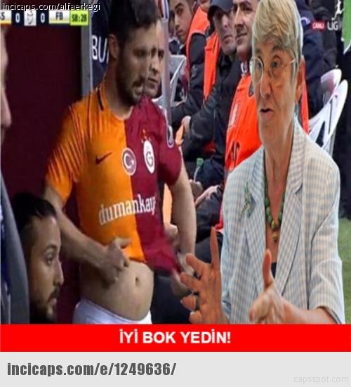 Galatasaray-Fenerbahçe derbisinin Caps'leri 8