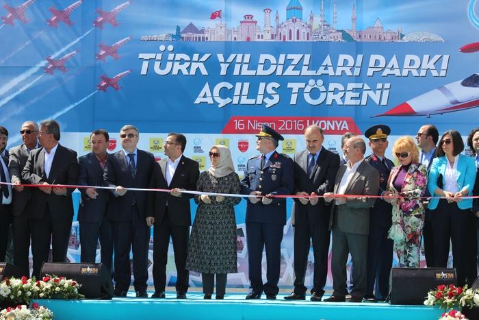 Türk Yıldızları Parkı açıldı 27
