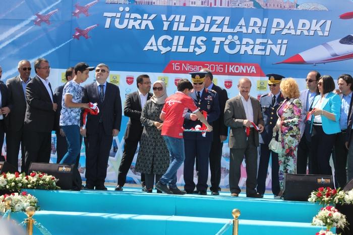 Türk Yıldızları Parkı açıldı 28