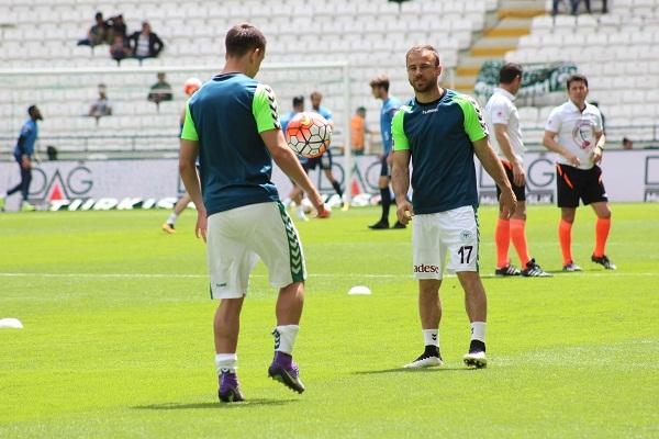 Torku Konyaspor - Çaykur Rizespor maçından kareler 2