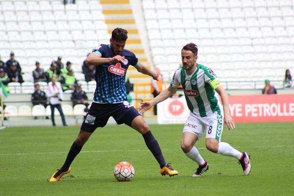Torku Konyaspor - Çaykur Rizespor maçından kareler 5