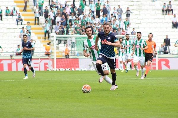 Torku Konyaspor - Çaykur Rizespor maçından kareler 7
