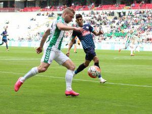 Torku Konyaspor - Çaykur Rizespor maçından kareler