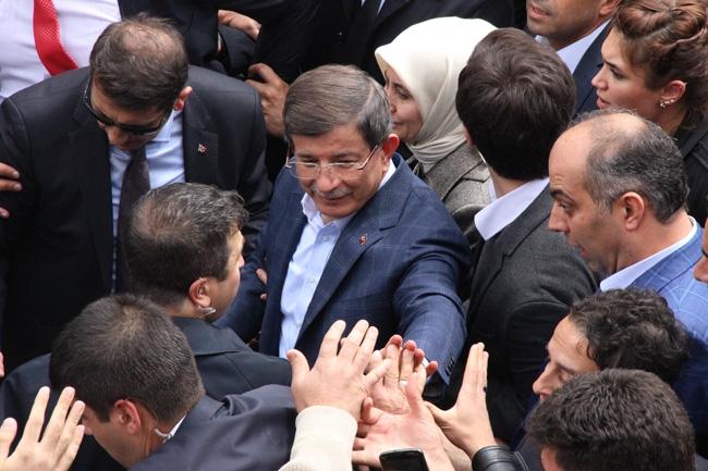 Ahmet Davutoğlu Konya'da böyle karşılandı 11