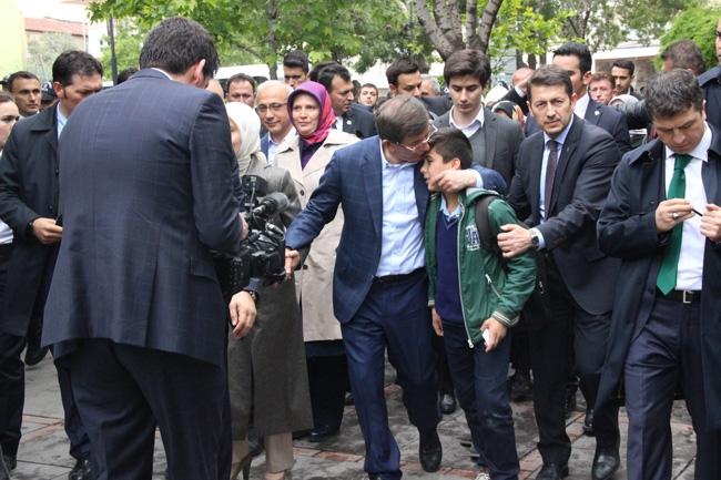 Ahmet Davutoğlu Konya'da böyle karşılandı 14