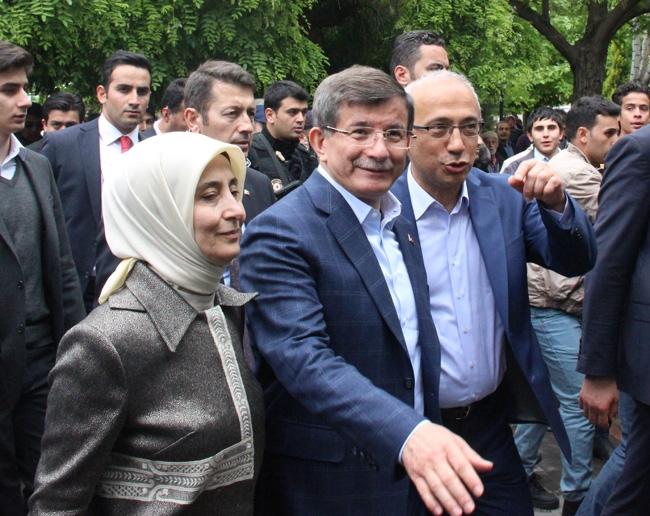 Ahmet Davutoğlu Konya'da böyle karşılandı 15