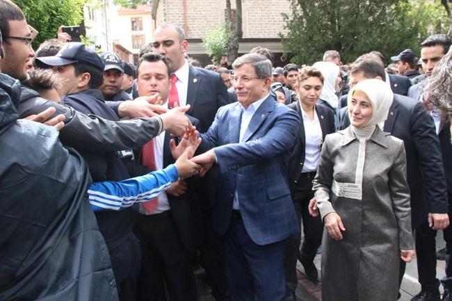 Ahmet Davutoğlu Konya'da böyle karşılandı 17