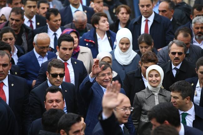 Ahmet Davutoğlu Konya'da böyle karşılandı 4
