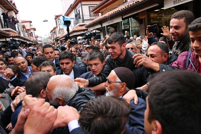 Ahmet Davutoğlu Konya'da böyle karşılandı 5