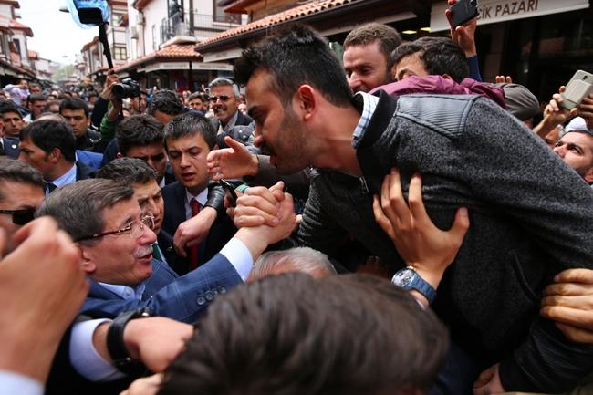 Ahmet Davutoğlu Konya'da böyle karşılandı 6
